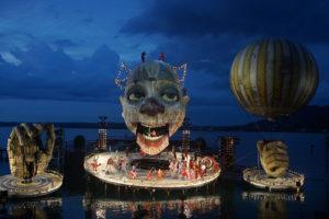 Rigoletto auf der Bregenzer Seebühne