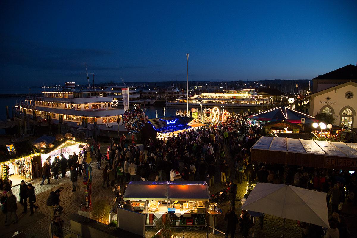 Lindau Weihnachtsmarkt.Advent Am Bodensee Mein Bodensee