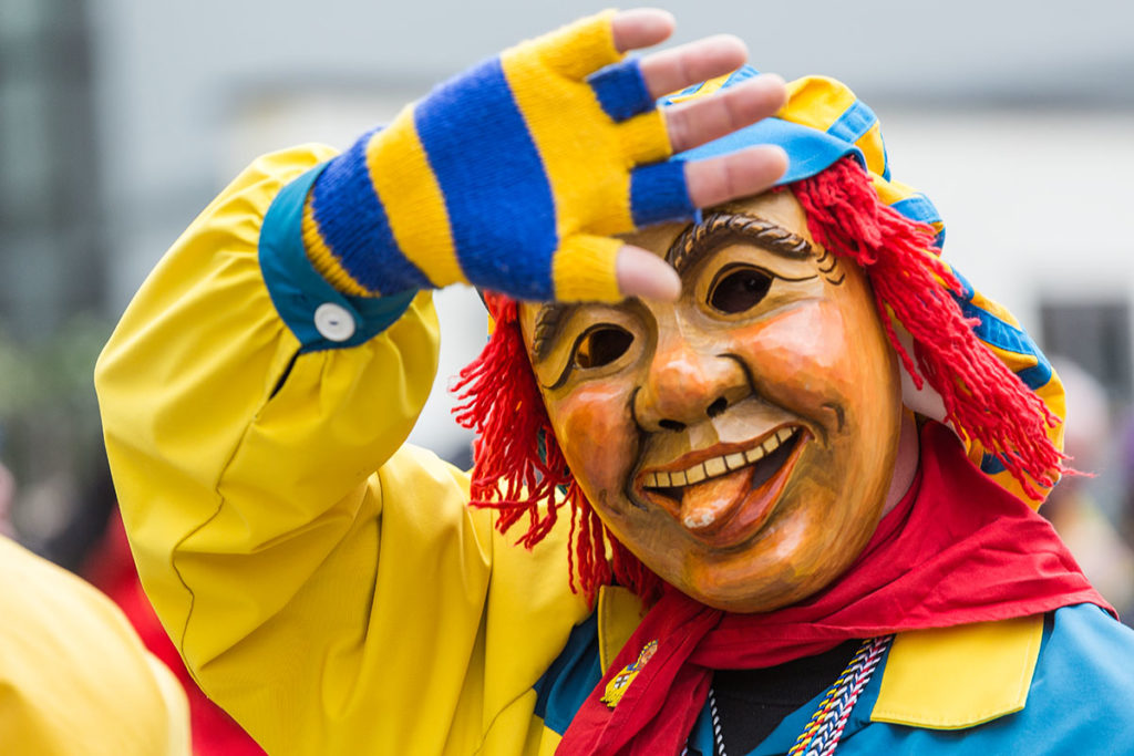 Fasnacht Konstanz Maske