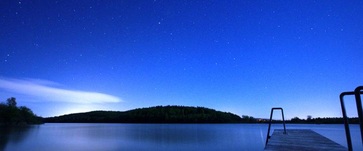 Sternenhimmel Mindelsee